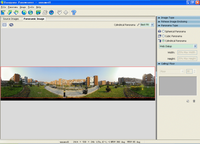 Panoweaver Professional for Macintosh Screenshot