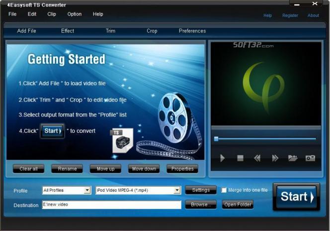 4Easysoft TS Converter Screenshot 3