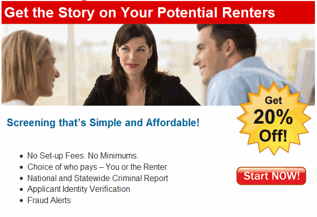 Tenant Screening Pro Screenshot