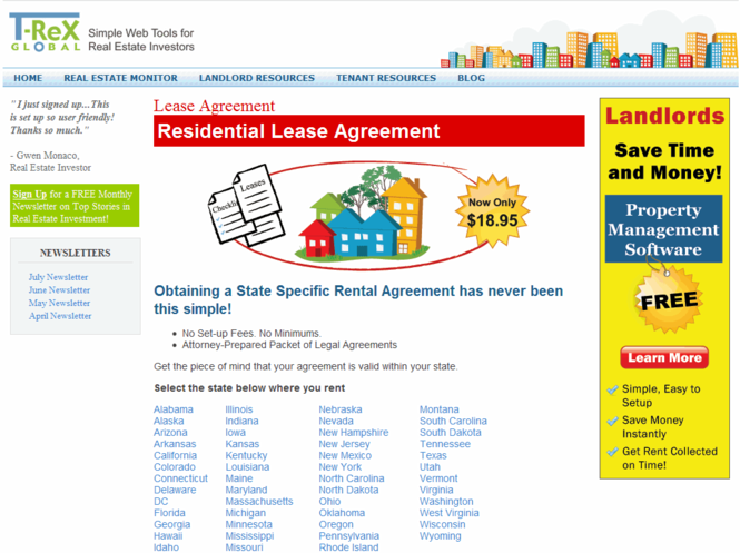 Lease Agreement Pro Screenshot