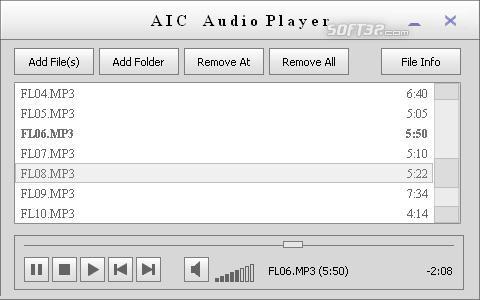AICAudioPlayer Screenshot 3