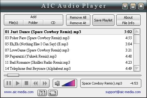 AICAudioPlayer Screenshot