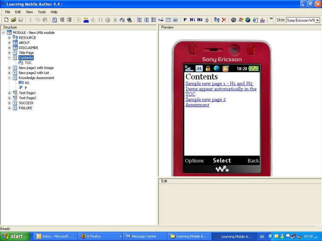 ABJAD Mobile Learning Screenshot