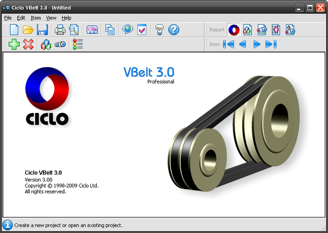 Ciclo VBelt Screenshot
