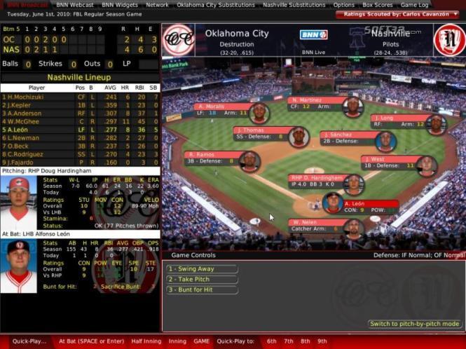 Out of the Park Baseball (Mac) Screenshot 2