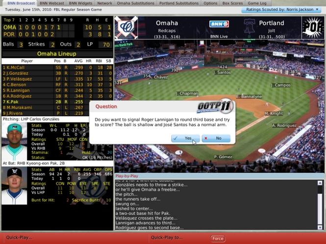Out of the Park Baseball (Mac) Screenshot 1