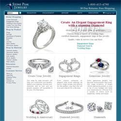 Platinum engagement rings Screenshot