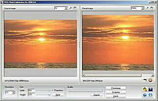 JPEG Photo Optimizer for WEB Screenshot