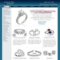 Discount engagement rings Screenshot