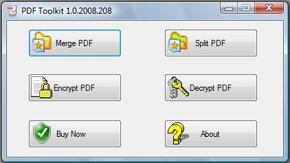 PDFToolkit Screenshot 1