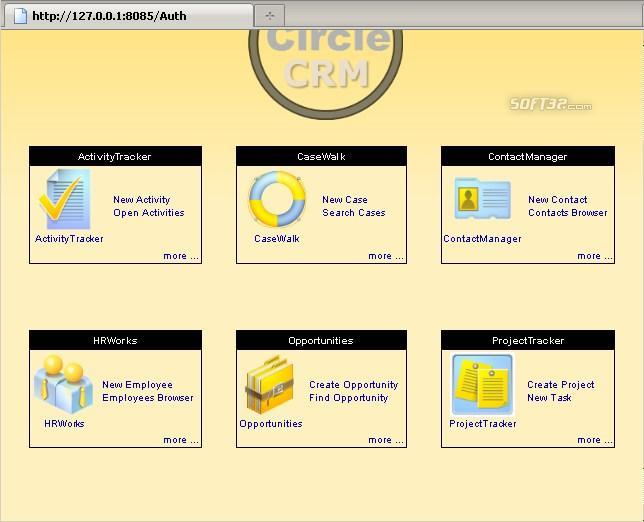 EnCircle CRM Screenshot 2