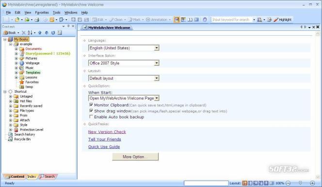 MyWebArchive Screenshot 2