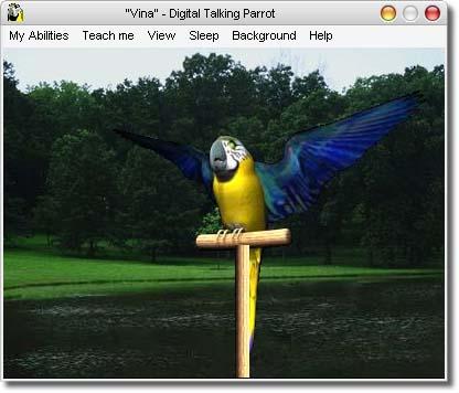AV Digital Talking Parrot Screenshot 1