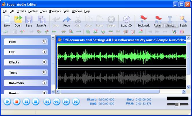 Super Audio Editor Screenshot 2