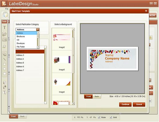 Label Design Studio Screenshot 2