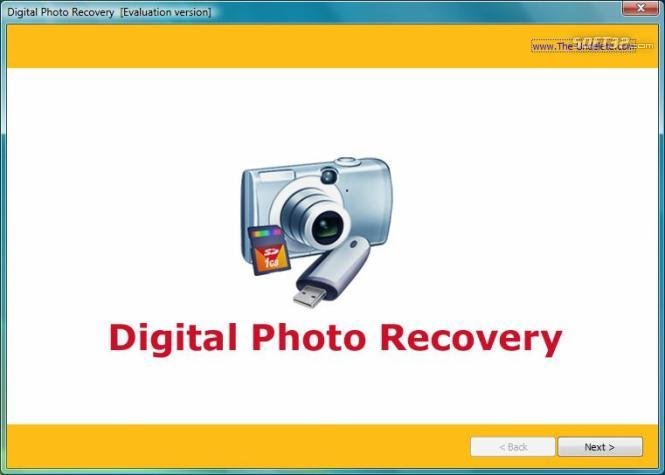 The-Undelete Digital Photo Recovery Screenshot 2