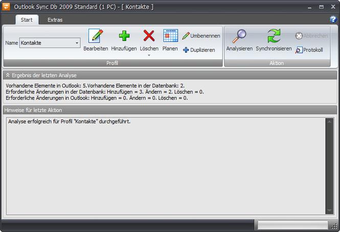 Outlook Sync Db 2009 Screenshot