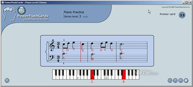 PFC Piano Practice Exercises for Windows Screenshot 2