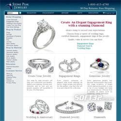 Diamond wedding rings Screenshot