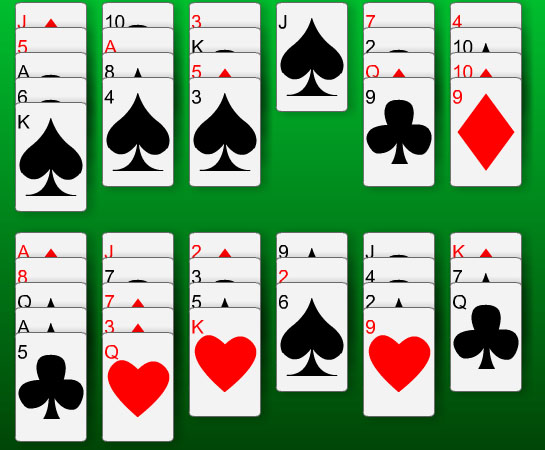 14-Out Solitaire Screenshot