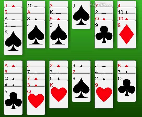 14-Out Solitaire Screenshot 2