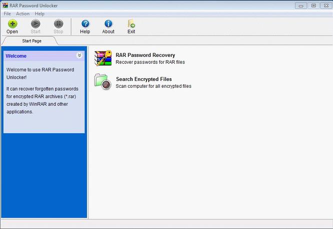 RAR Password Unlocker Screenshot 2