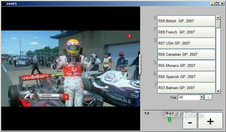 Watch Schumacher F1 Screenshot