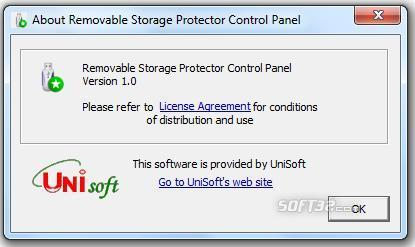 UniSoft Removable Storage Protector Screenshot 3