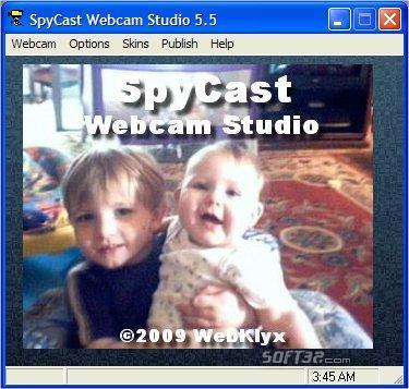 SpyCast Webcam Studio Screenshot