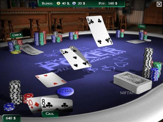 Texas Hold'em Poker All-in-Edition 2009 Screenshot 2