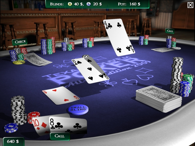 Texas Hold'em Poker All-in-Edition 2009 Screenshot
