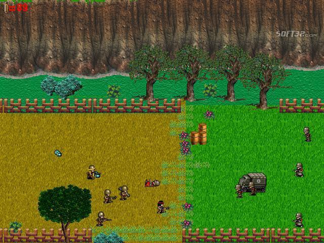 Tiny Soldiers World War 2 Screenshot 2