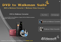 4Videosoft DVD to Walkman Suite 1