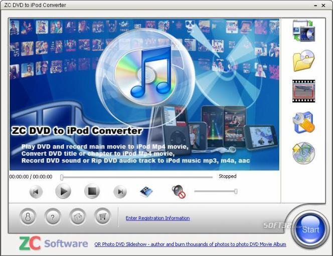 ZC DVD to iPod Converter Screenshot 1