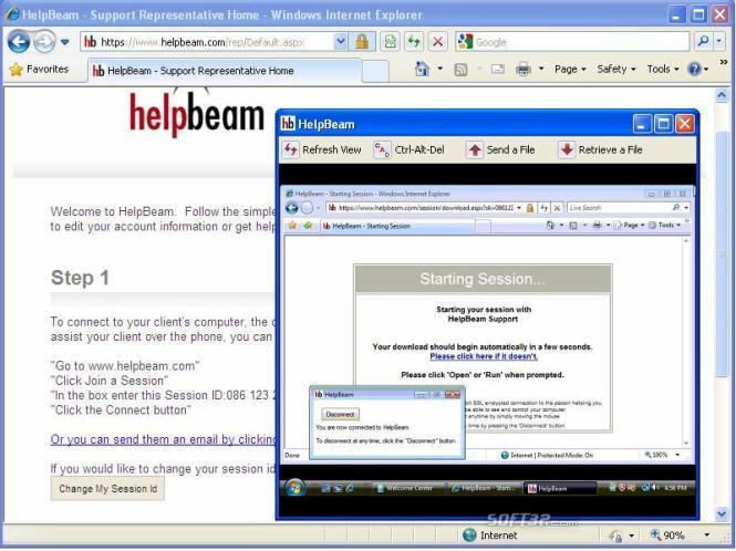 HelpBeam Screenshot 2
