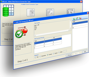 Data Exchange Manager Standard Screenshot