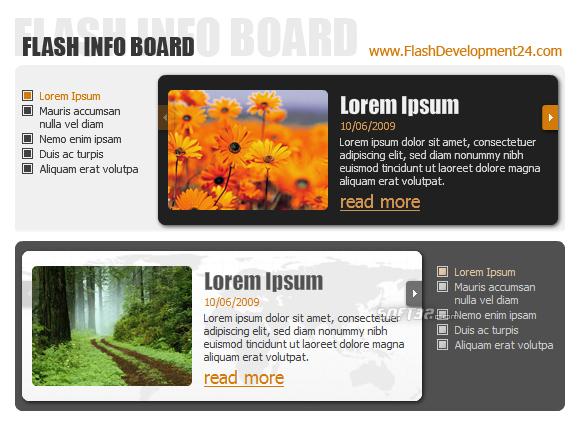 Flash Info Board Screenshot 3