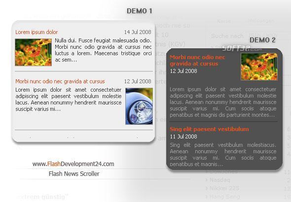 Flash Scroller for News Screenshot 3