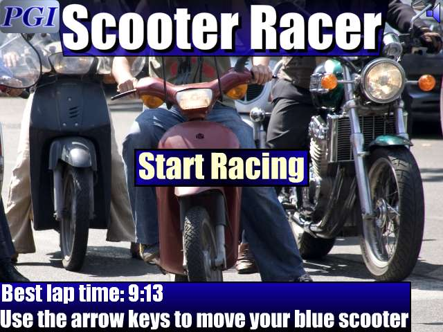 Scooter Racer Screenshot