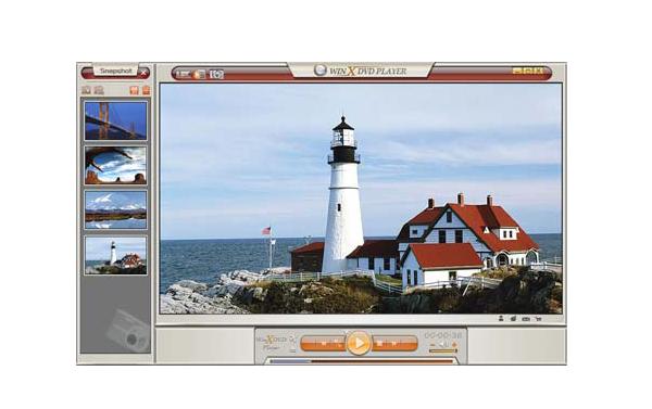 WinX DVD Player Screenshot