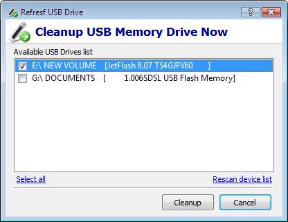 USBDriveFresher Screenshot
