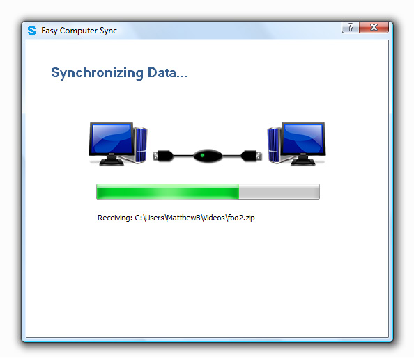 Easy Computer Sync Screenshot
