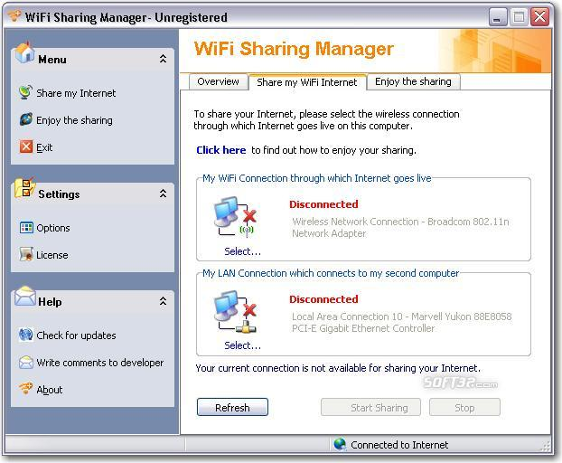 WiFi Sharing Manager Screenshot 3
