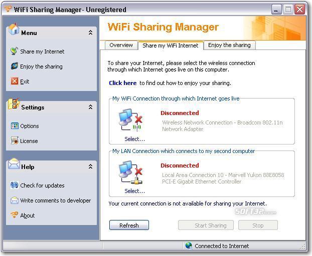 WiFi Sharing Manager Screenshot 3