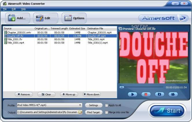 TS to DVD converter Screenshot 3