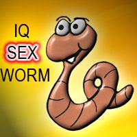 IQ Sex Worm Game Screenshot