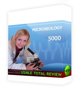 USMLE MICROBIOLOGY Screenshot