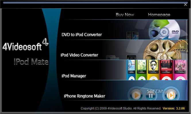 4Videosoft iPod Mate Screenshot 4