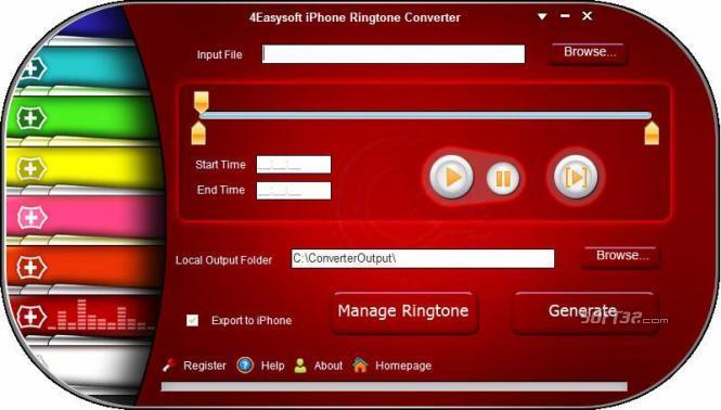 4Easysoft iPhone Ringtone Converter Screenshot 2