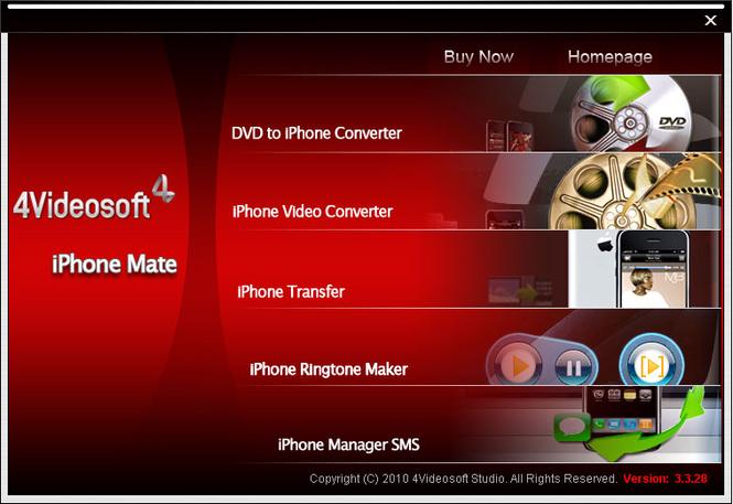 4Videosoft iPhone Mate Screenshot 3